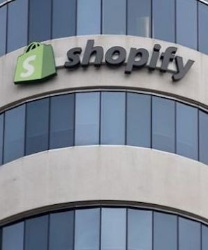 Shopify revenue up 96 per cent amid massive shift to e-commerce.