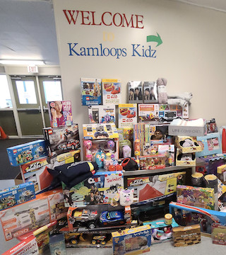 Kamloops Kidz Early Learning Centre makes a big toy donation to local children in need.