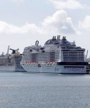 US Coast Guard mandates cruise ships must stay at sea with sick onboard.