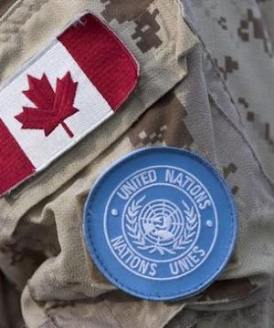 Canadian peacekeeping levels hit lowest level in 60-plus years.