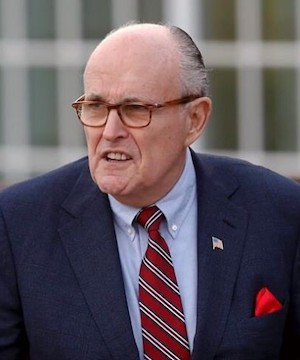 Dominion Voting Systems files defamation lawsuit against Rudy Giuliani over claims about election.