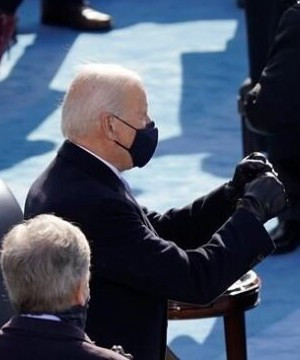 Biden inauguration second only to Reagan and Obama, with 33.8 million TV viewers.