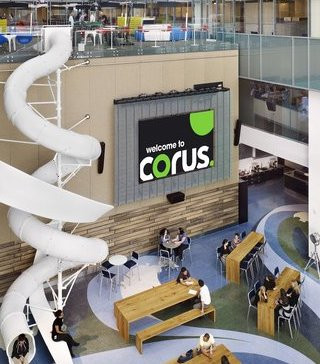 Corus lands deal with U.S. streamer Hulu, CEO says Canadian ad revenue rising.