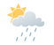 Mainly cloudy. 40 percent chance of showers late in the morning and in the afternoon. Wind becoming west 20 km/h early in the afternoon. High 19. UV index 7 or high.